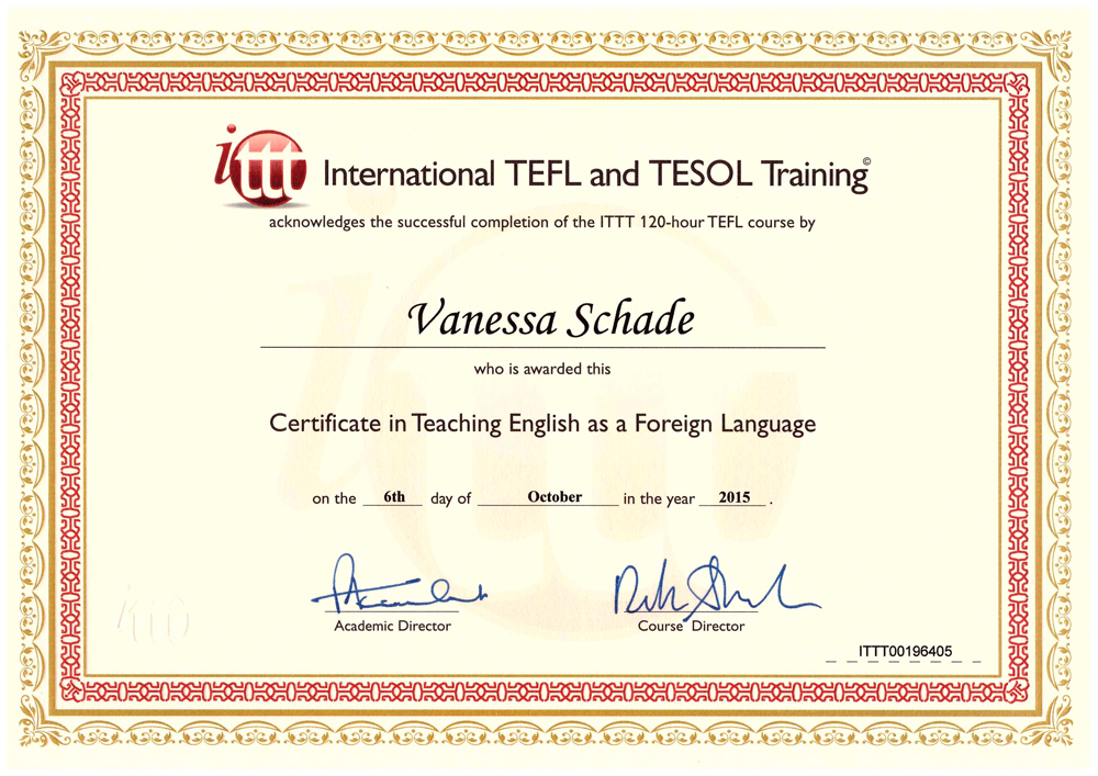 tefl certificate - Gecce.tackletarts.co